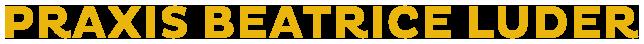 Logo der Praxis Beatrice Luder