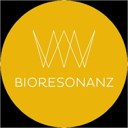Bioresonanz Logo: verschobene Wellenformen